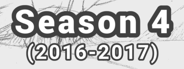 Season 4 ( 2016 – 2017 )